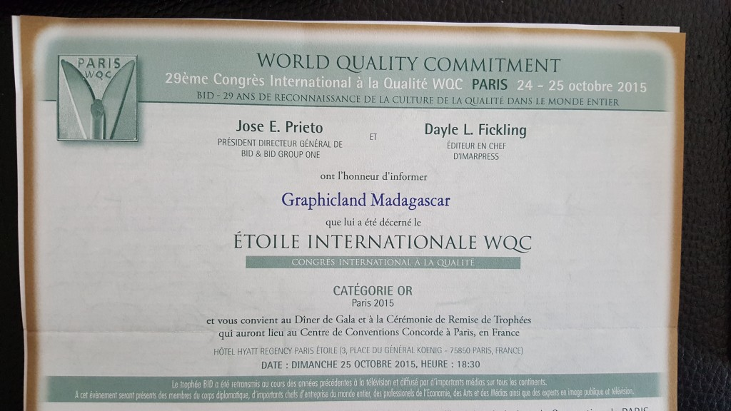 World Quality Commitment