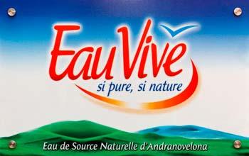 Fabrication de PLV ou Publicité sur le Lieu de Vente à Madagascar
