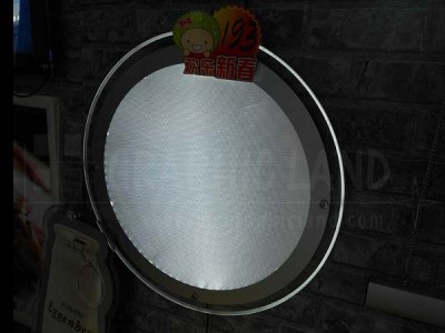 crystal light box rond