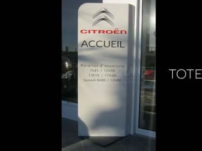 Totem Citroën