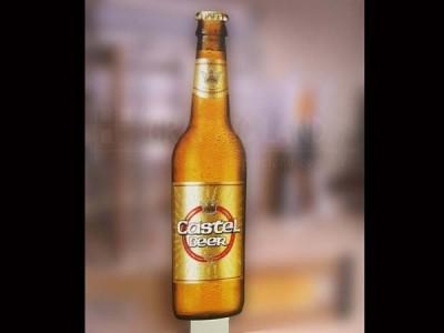 Bière Castel PVC