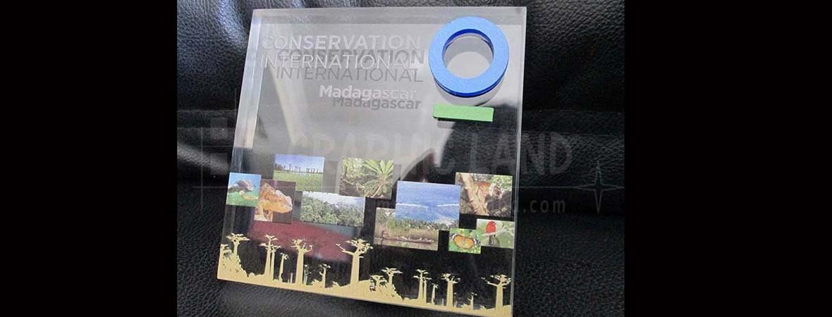 presse papier Madagascar