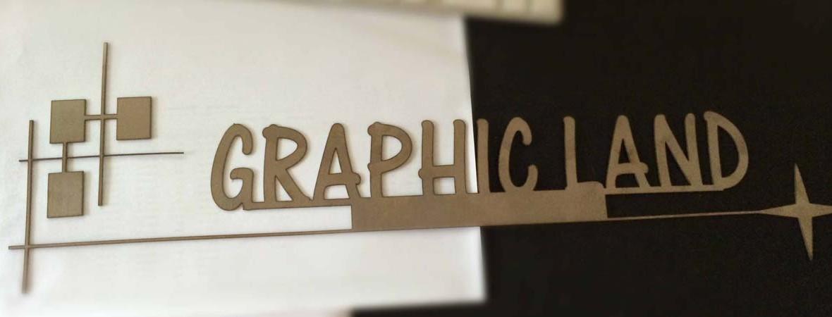 lettres découpées Graphicland