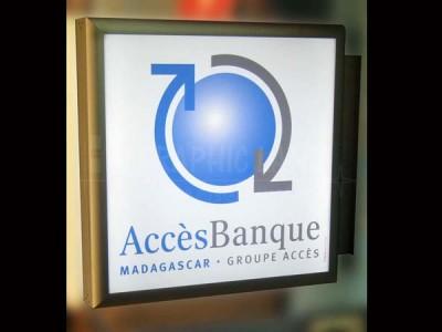 Enseigne Accès Banque
