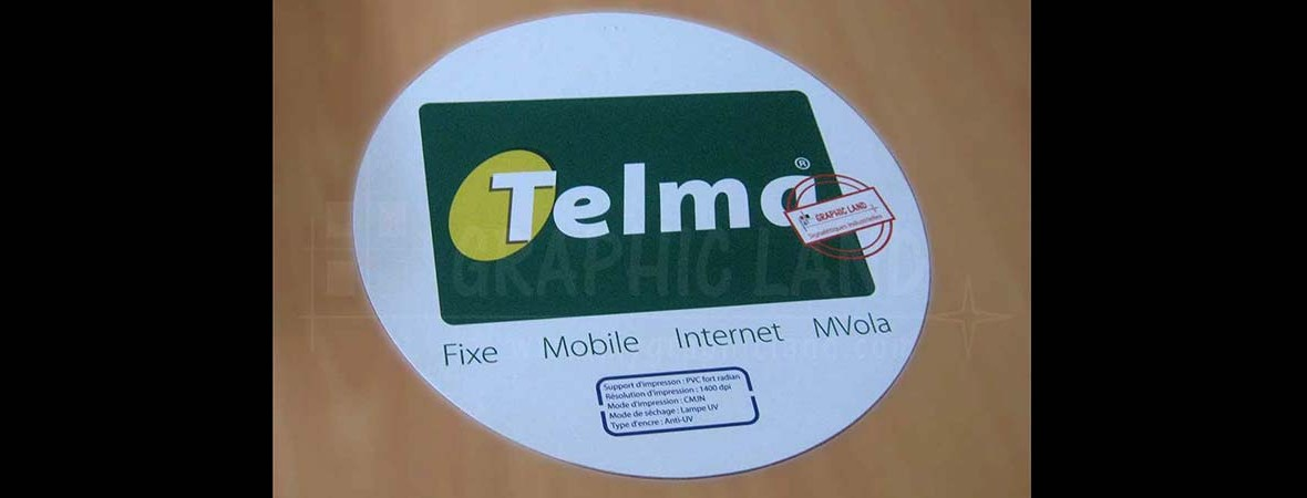 Impression PVC : Telma