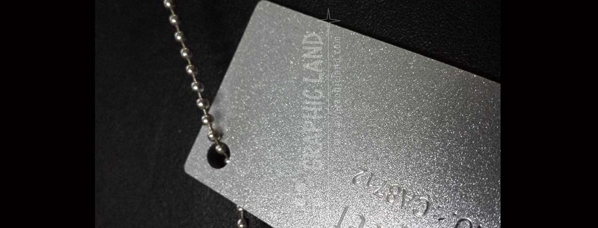 impression sur acrylique aluminium sablé