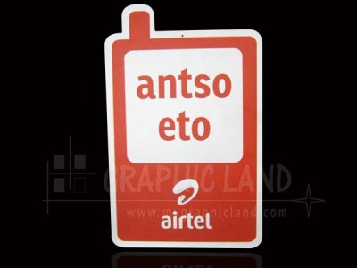 impression plaque Airtel