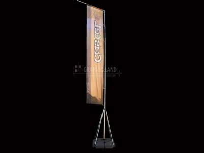 Flying banner Castel