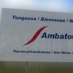 panneau signalétique routier, Madagascar