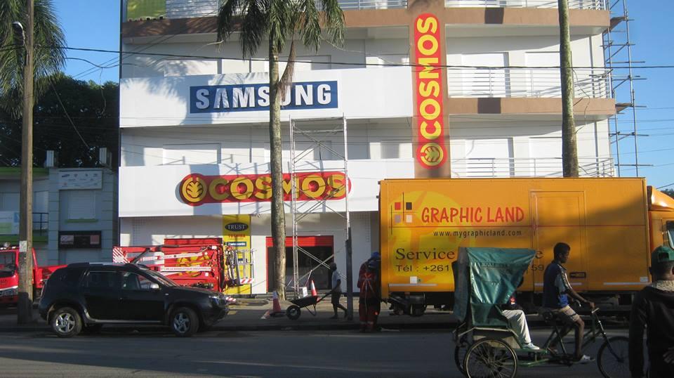 Enseigne Samsung